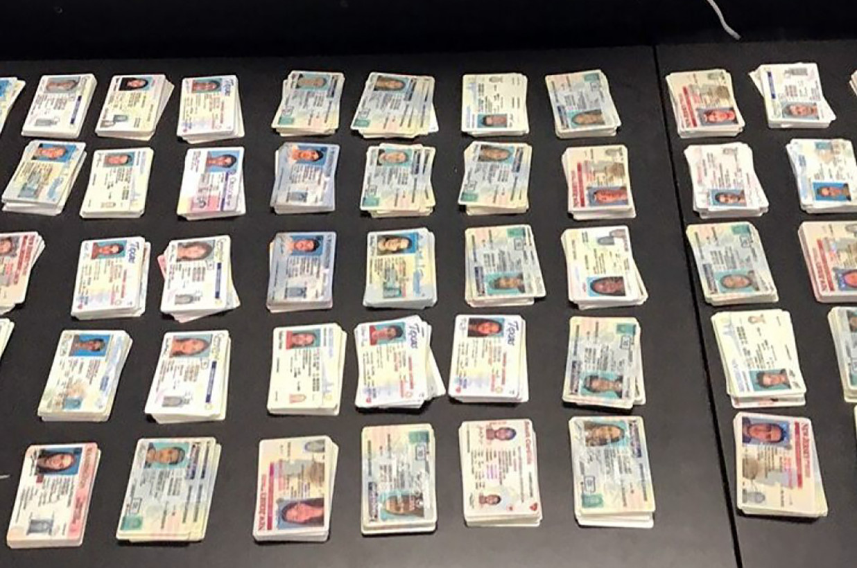 CBP seizes thousands of fake IDs headed from China to New York
